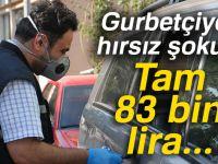 Gurbetçinin lüks aracındaki 83 bin lirası çalındı