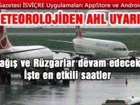 Meteroloji'den Atatürk Havalimanı uyarısı