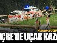 İsviçre'de uçak kazası... 2 kişi öldü!