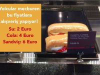 Havaalanındaki yiyecek / içecek fiyatları neden bu kadar pahalı?