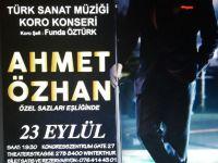 Ahmet Özhan İsviçre'ye geliyor