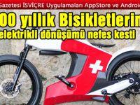 1900'lü yılların yarış motosikletlerini hayata döndüren sınırlı üretim elektrikli bisiklet serisi