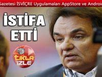 TV yorumcusunu döven Sion Başkanı istifa etti