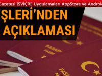 Dışişleri'nden çok önemli vize açıklaması