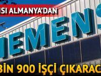 Siemens 6 bin 900 işçiyi çıkaracak