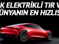 Tesla'dan ilk elektrikli tır ve müthiş hızlı roadster