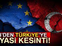 AB'den, Türkiye'ye 105 milyon euroluk siyasi kesinti