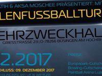 Schaffhausen Fatih ve Aksa Camii Vatandaşlarımızı Futbol Turnuvasına davet ediyor.