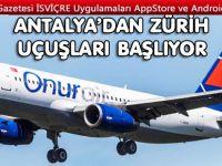 Onur Air Antalya'dan Avrupa'ya uçacak
