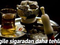 ''Nargile sigaradan daha tehlikeli''