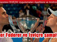Roger Federer ve İsviçre şampiyon!