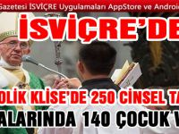 İsviçre'de Katolik Kilisesi'nin başı cinsel istismarla dertte!