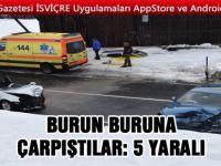 Kanton Luzern'de Trafik kazası: 5 Yaralı