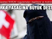 İsviçrelilerin yüzde 76'sı 'burka'ya karşı