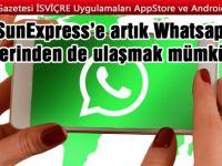 Yolculara whatsapp üzerinden hizmet