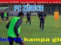 FC ZÜRİH ANLTALYA'DA KAMPA GİRDİ