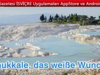 Türkei Sehenswürdigkeiten:Kalkterrassen von Pamukkale