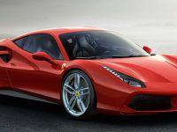 Ferrari'nin yeni harikası 488 GTB Cenevre'nin yıldızı olmaya hazır