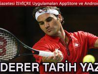 Roger Federer zirveye rekorla çıktı
