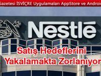 Nestle'nin satışları hayal kırıklığı