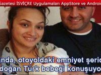 Hollanda, otoyoldaki emniyet şeridinde doğan Türk bebeği konuşuyor