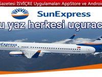 SunExpress bu yaz herkesi uçuracak