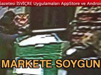 VOLG MARKETİNE SOYGUN/ POLİS GÖRGÜ TANIKLARI ARIYOR