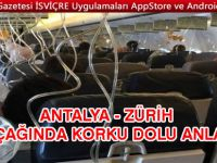 Antalya – Zürih Uçağı Sofya'ya İndi