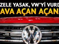 Almanya'da dizel yasağı VW'yi vurdu