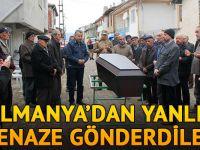 Almanya'da ölen gurbetçilerin cenazesi karıştı