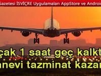 Mahkemeden emsal karar: Uçağı 1 saat rötar yapan yolcu tazminat kazandı