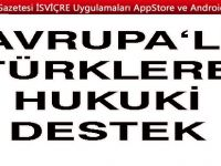 Avrupalı Türklere hukuki destek