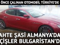 İspanya'da çalınan otomobiline Türkiye'de kavuştu