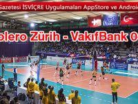 VakıfBank, deplasmanda Volero Zürih'i 3-0 Mağlup Etti