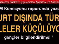 Yurt dışındaki Türkler için TBMM'den çarpıcı rapor