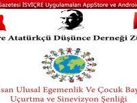 23 Nisan Ulusal Egemenlik ve Çocuk Bayramı Uçurtma ve Sinevizyon Şenliği