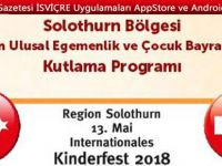 SOLOTHURN BÖLGESİ 23 Nisan Ulusal Egemenlik ve Uluslararası Çocuk Bayramı kutlamaları
