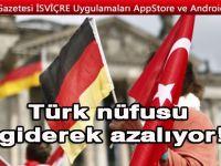 Almanya'da Türk nüfusu giderek azalıyor!