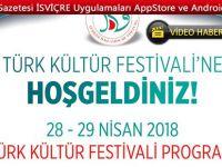 İTDV TÜRK KÜLTÜR FESTİVALİ 28+29  NİSAN 2018'DE