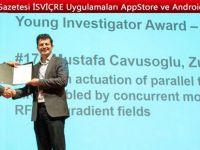 Türk bilim adamı ödül aldı