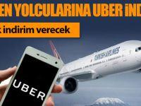 THY'den uçak bileti alana UBER indirimi