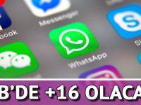 WhatsApp'e AB'de yaş sınırı geliyor