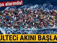 Avrupa'da mülteci alarmı