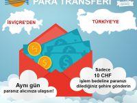 TÜRKİYE'YE KOLAY PARA TRANSFERİ