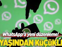 Avrupa'da WhatsApp'a 16 yaş sınırı geldi!