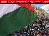 Cenevre'de Filistin İçin Gösteri