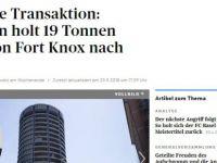 Erdoğan Basel'e 19 ton altın aktardı haberi