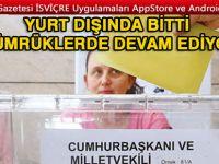 Gümrükte oy kullanmaya devam
