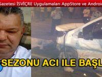 Gurbetçi trafik kazasında hayatını kaybetti