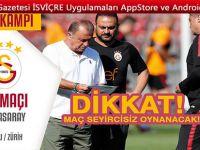 FC Wil-Galatasaray maçı seyircisiz oynayacak